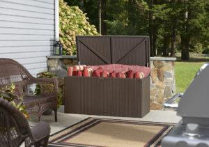 Spacemaker Deck Box on a patio