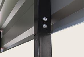 Self-drilling screws detail