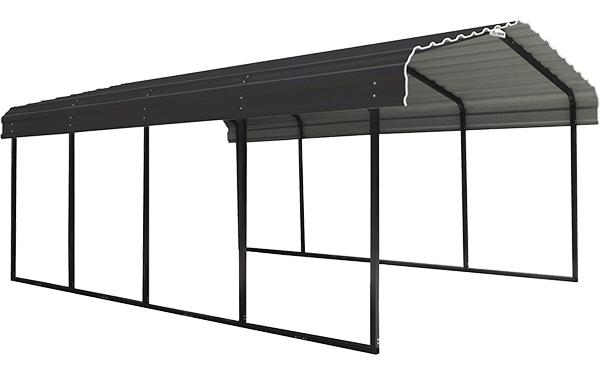 Arrow Carport 12 ft. Wide