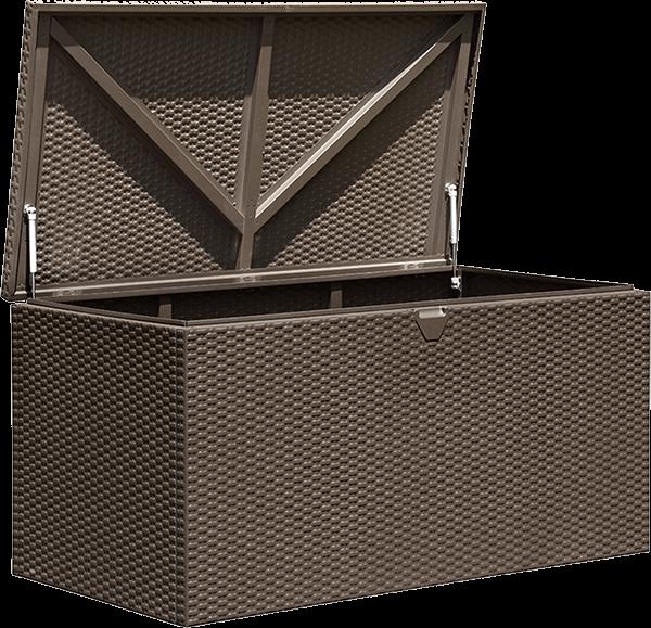 Spacemaker Deck Box - Espresso