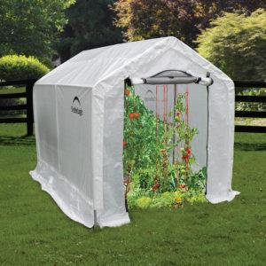 1,8×2,4×2 m Peak Style Grow It Greenhouse-in-a-Box, with Shelves