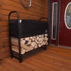 4 ft. / 1,2 m Heavy Duty Firewood Rack w/Cover