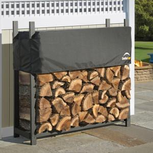 4 ft. / 1,2 m Ultra Duty Firewood Rack w/Cover