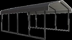 Arrow Carport Charcoal