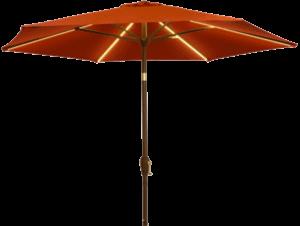 LED Market Patio Umbrella