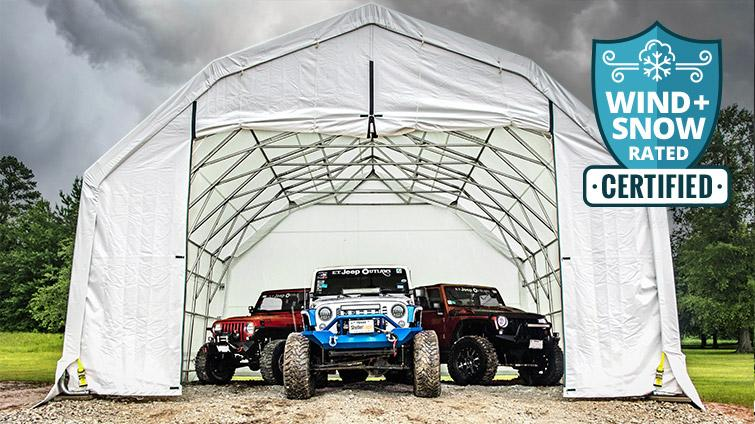 ShelterTech Wind and Snow - Jeeps