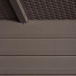 Spacemaker® Deck Box grooved floor