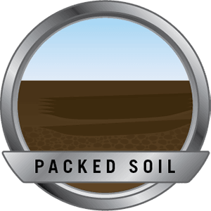Packed soil icon