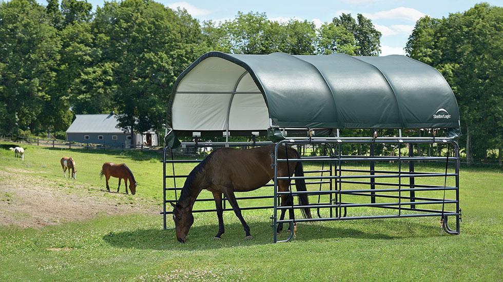 Equine Shelter Corral Shelter