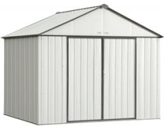 Cream EZEE Storage Shed