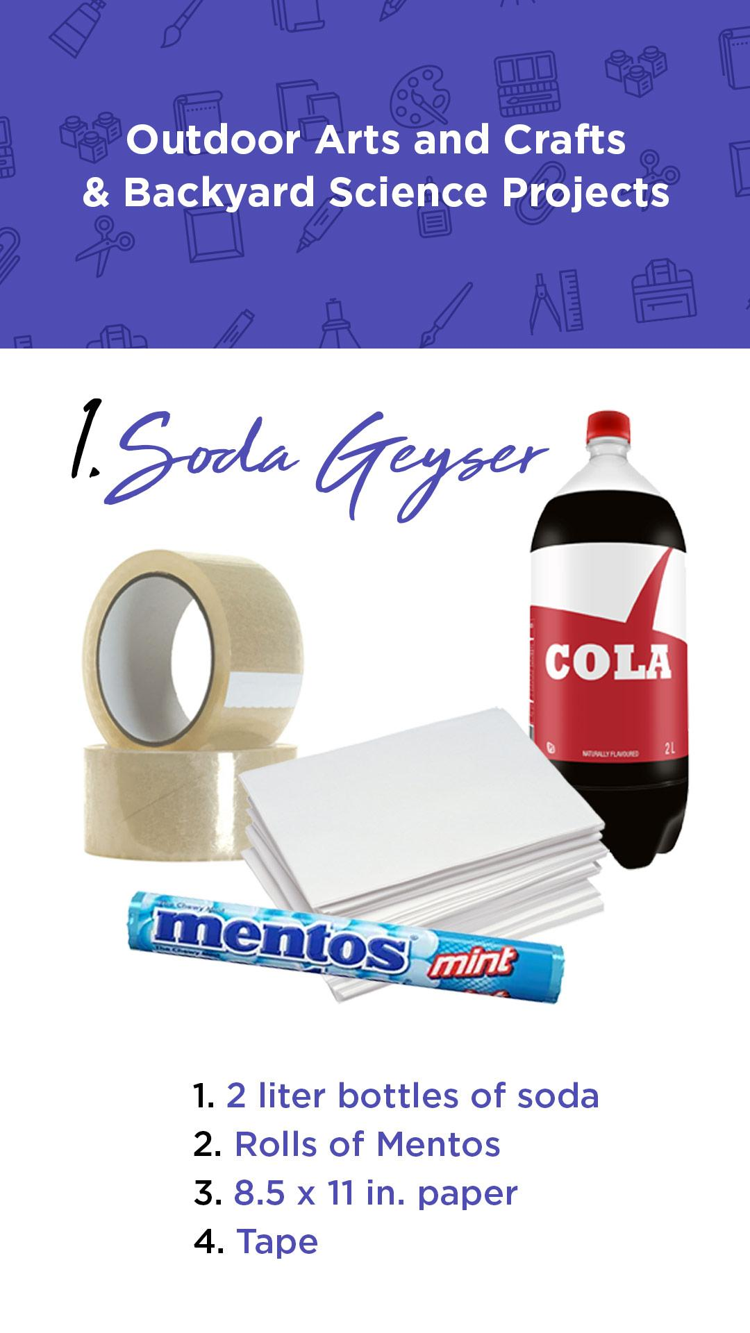 How to Make a Soda Geyser