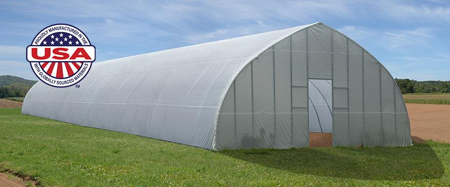 High Tunnel Greenhouse ShelterTech Mood Image