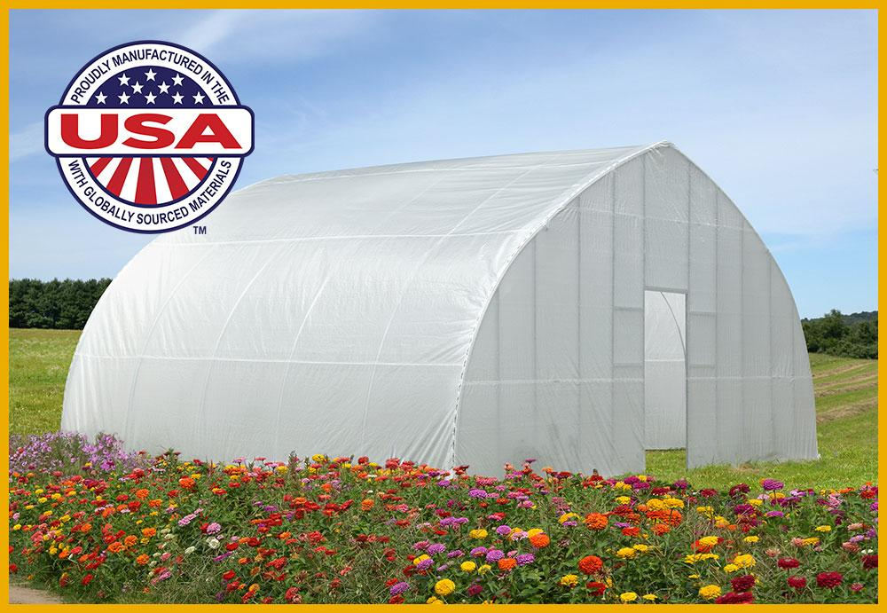 High Tunnel Greenhouse ShelterTech Mood Image 2
