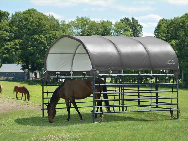 corral shelter livestock shade
