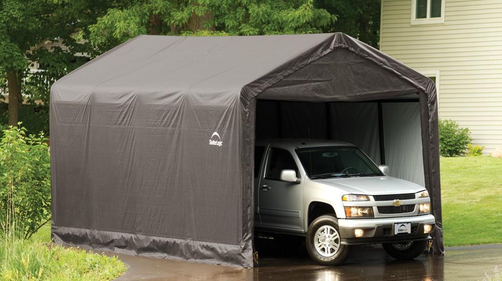 Car Shelter Temporary Permanent Car Shelter Ideas
