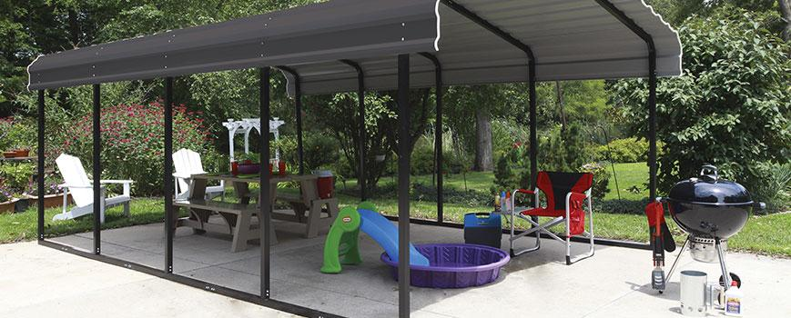 Fabric vs. Metal Carports: Pros and Cons to Consider