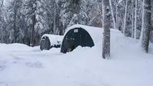 ShelterTech SP Series ShelterLogic Snow