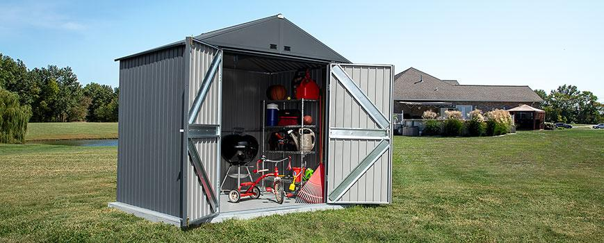 DIY Backyard Projects Arrow Elite Storage Shed