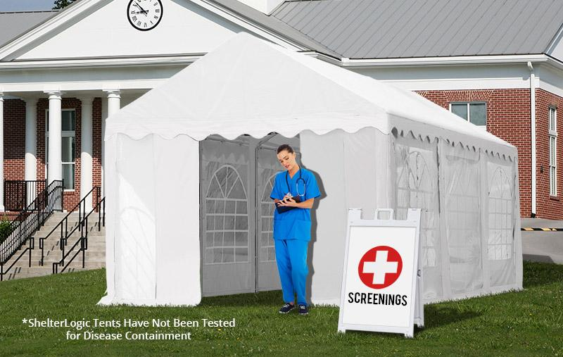 Medical Screening Tent