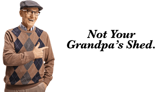 Not Grandpas Shed