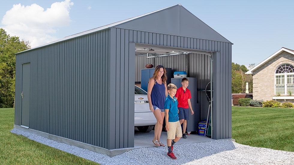 Prefab metal garages | SOJAG Everest