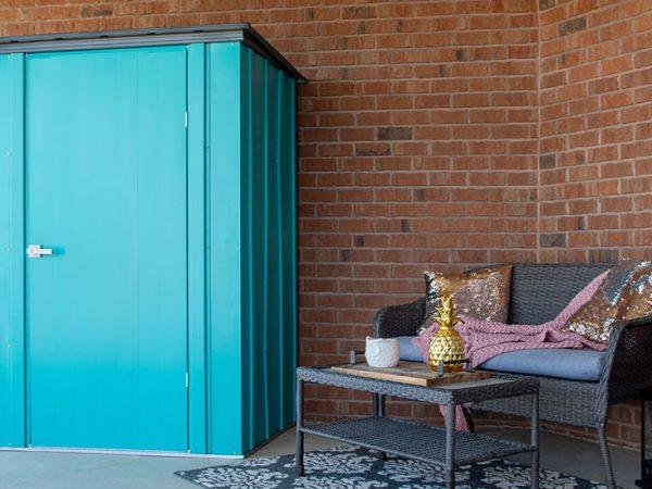 Small shed ideas | The Spacemaker Patio Steel Storage Shed