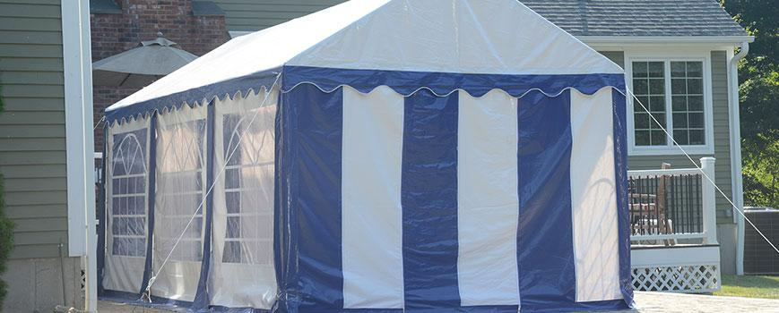 Cons to Purchasing Party Tents