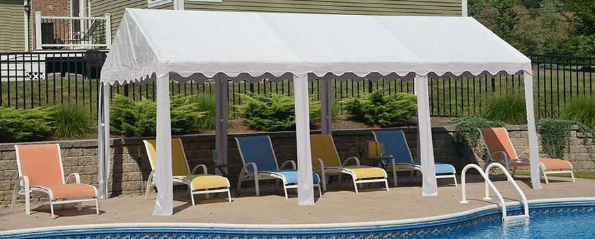 Poolside Party Tent