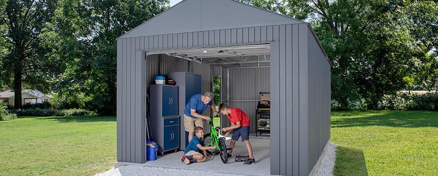 SOJAG Everest prefab metal garages