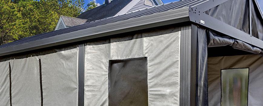 Freestanding Carport Enclosure for he SOJAG Samara Carport