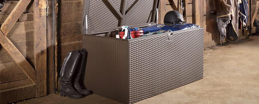 indoor storage Spacemaker Deck Box