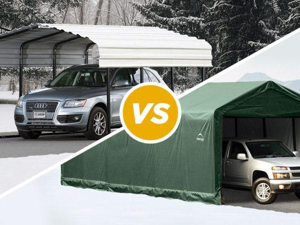 Garage vs Carport Header