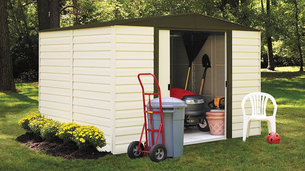 Lawn Equipment Storage