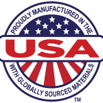 Manufactured in USA Badge
