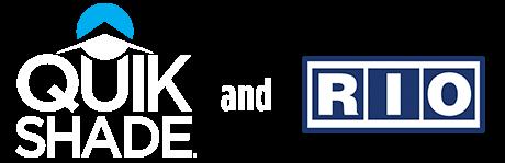 Quik Shade and RIO Logos