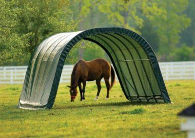 run-in shelter for horses and hay storage holiday gift guide