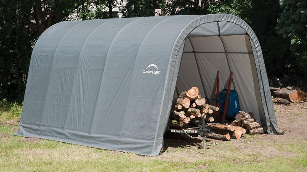 ShelterLogic Round Top Garage