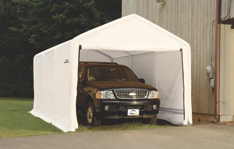 Need An Upgrade Replace Your Shelterlogic Garage Cover