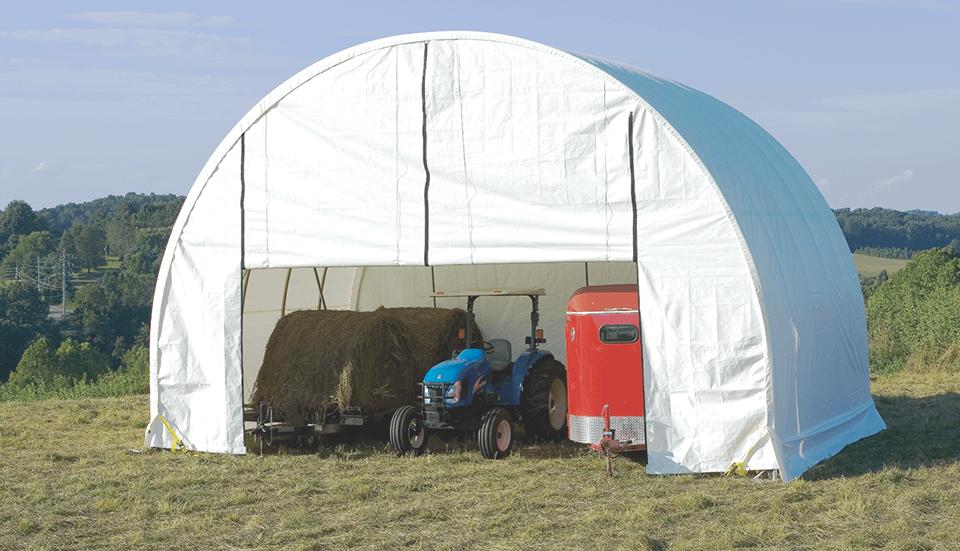 Custom ShelterTech SP Series Building