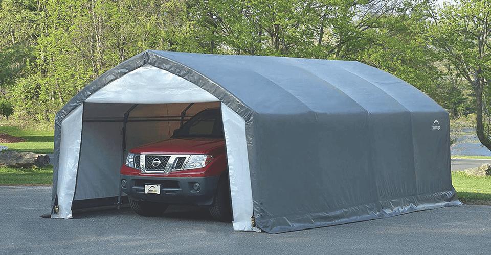 AccelaFrame HD Shelter Garage Storage Tent Storage Garage