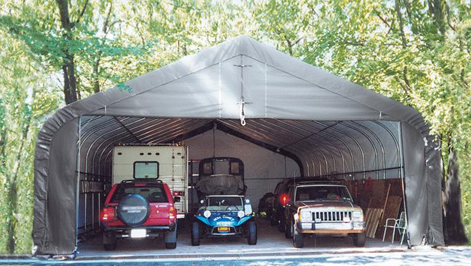 rv storage, sheltercoat custom building, rv protection, rv cover