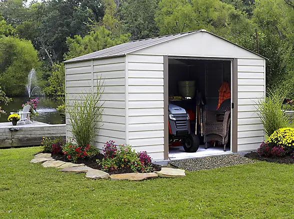 backyard organization backyard sheds