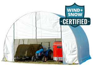 ShelterTech All-Season Shelter - Wind and Snow Rated