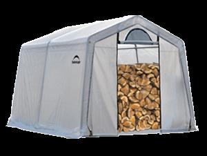 Firewood Seasoning Shed Silo