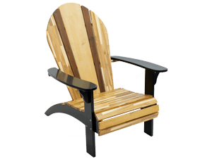 Woody Surf Co. Adirondack Chair