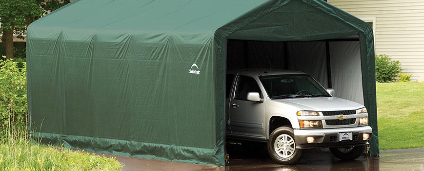 ShelterLogic Backyard Garages: What They Are and Their Uses