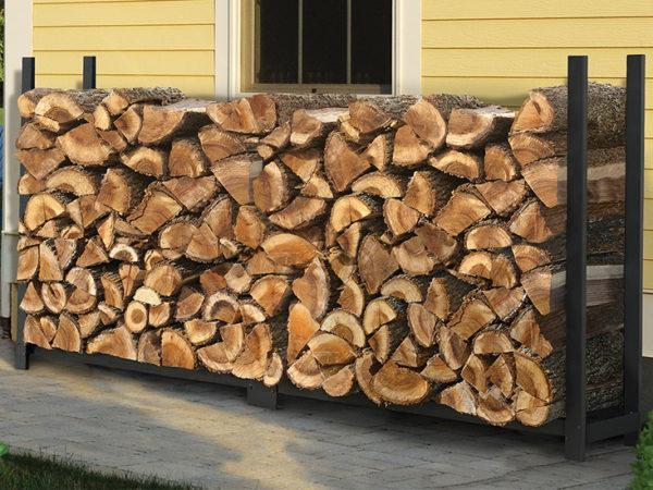 storing firewood, ultra duty firewood rack