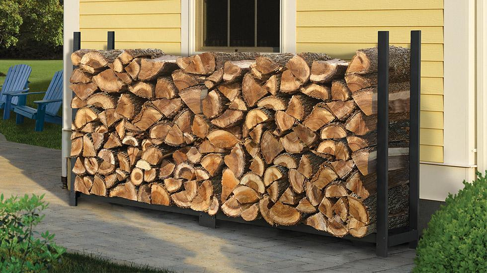 storing firewood, ultra duty firewood rack