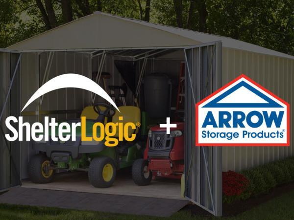 ShelterLogic and Arrow Sheds