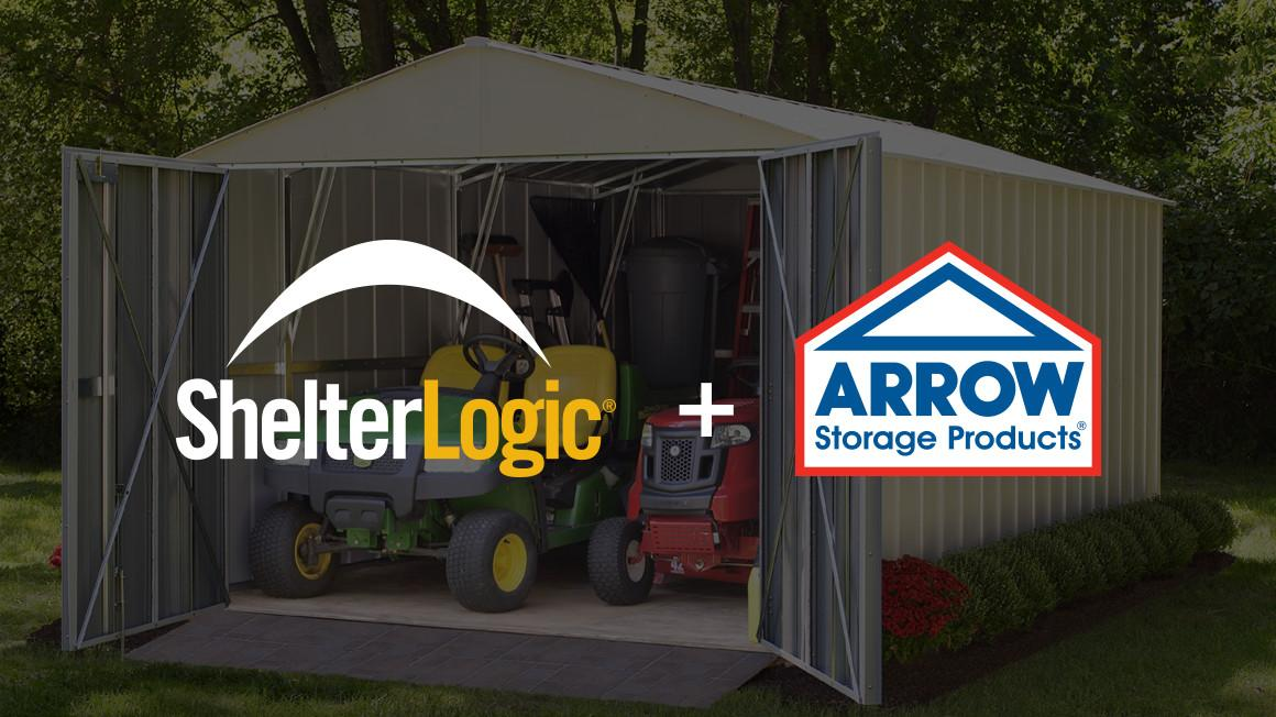 ShelterLogic and Arrow Sheds